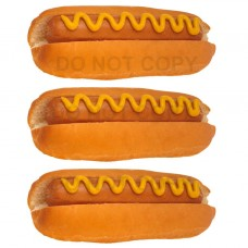 Hot dog with Mustard Stickers