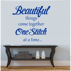 Sewing Roon Vinyl Wall  Decal Sticker