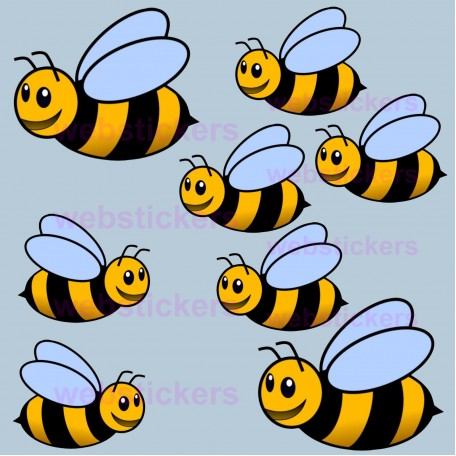 Bumble Bee stickers
