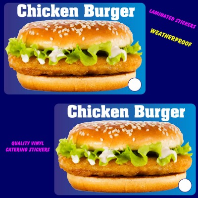 Chicken Burger  stickers