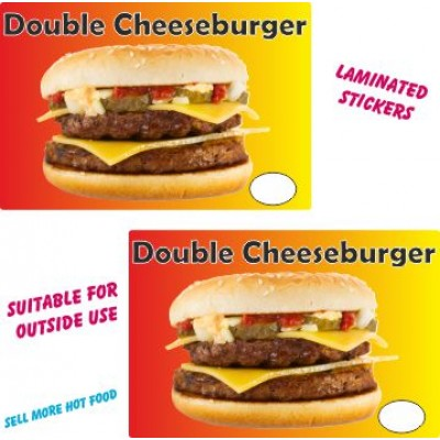 Double Cheese Burger  stickers
